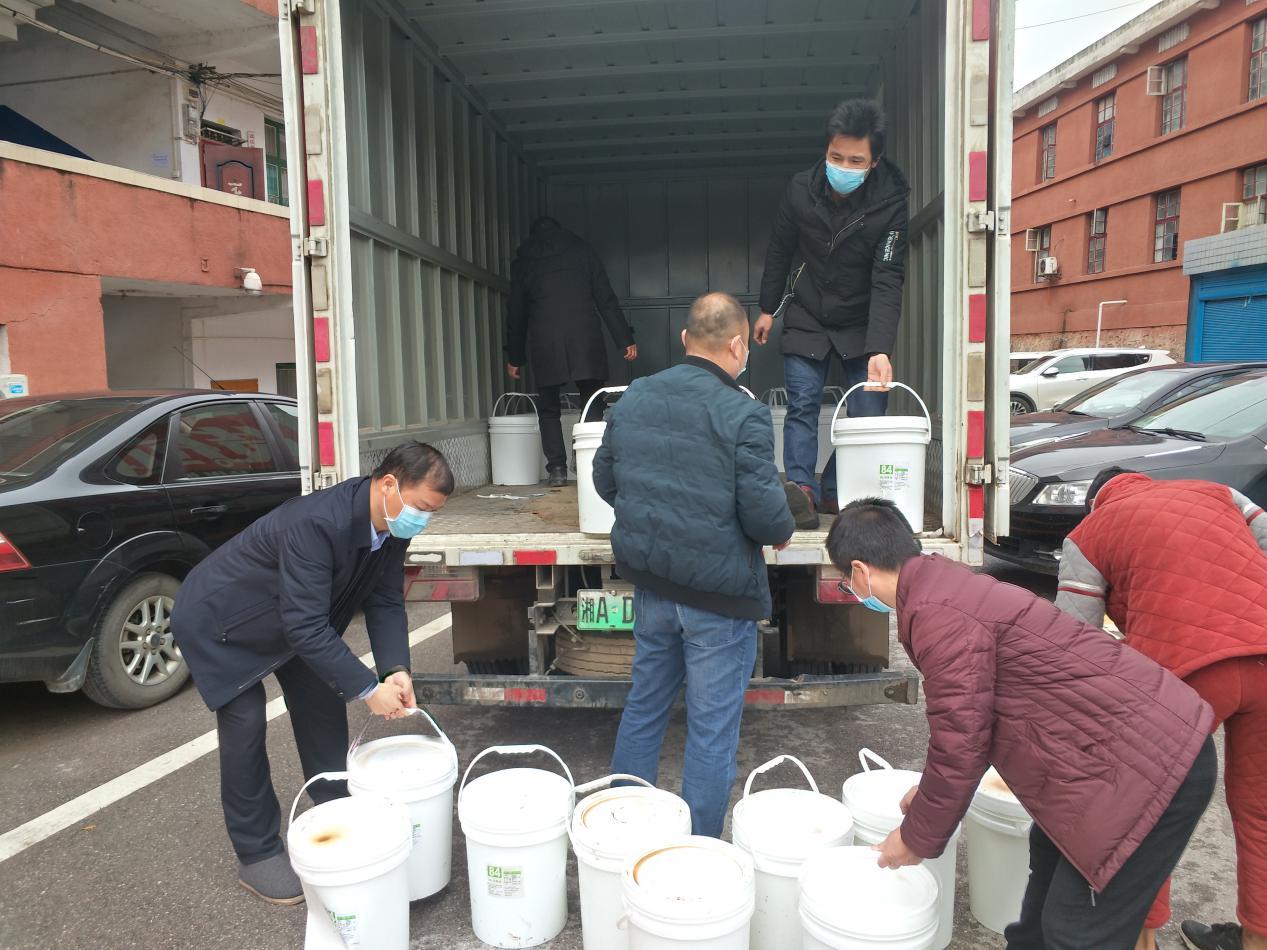 社会各界爱心企业爱心人士捐资捐物助力桥头河镇疫情防控工作