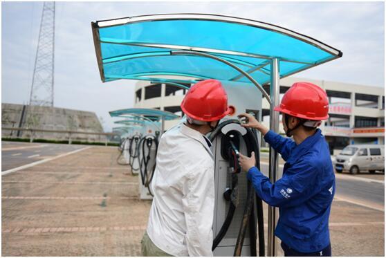 广元:432台充电桩全部接入车联网平台