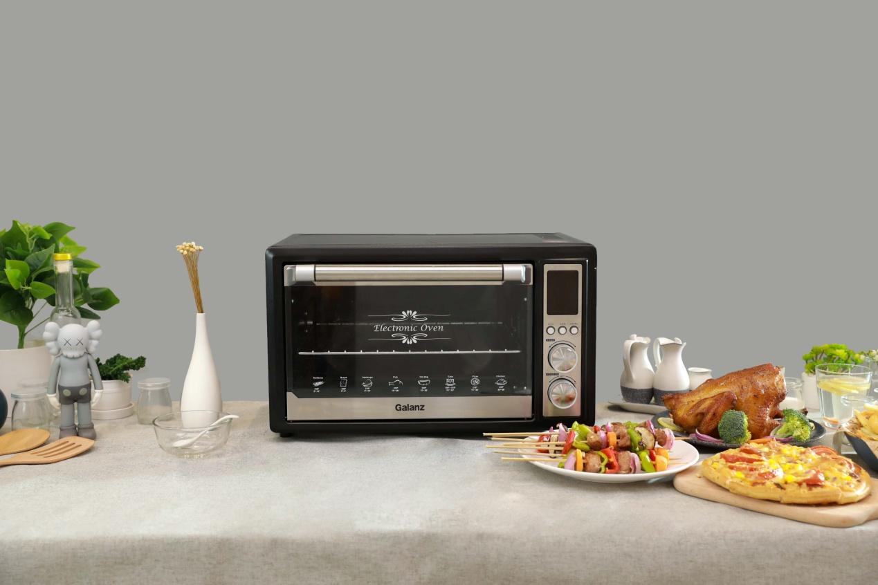 让格兰仕H12N空气炸烤箱 陪你找回生活的仪式感-家电圈