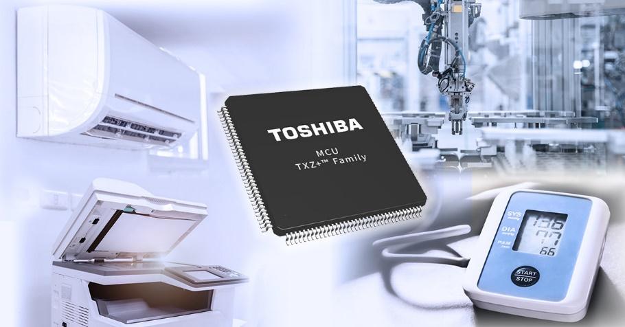 东芝推出5组全新的TXZ+™族高级微控制器,实现低功耗,支持系统小型化和电机控制