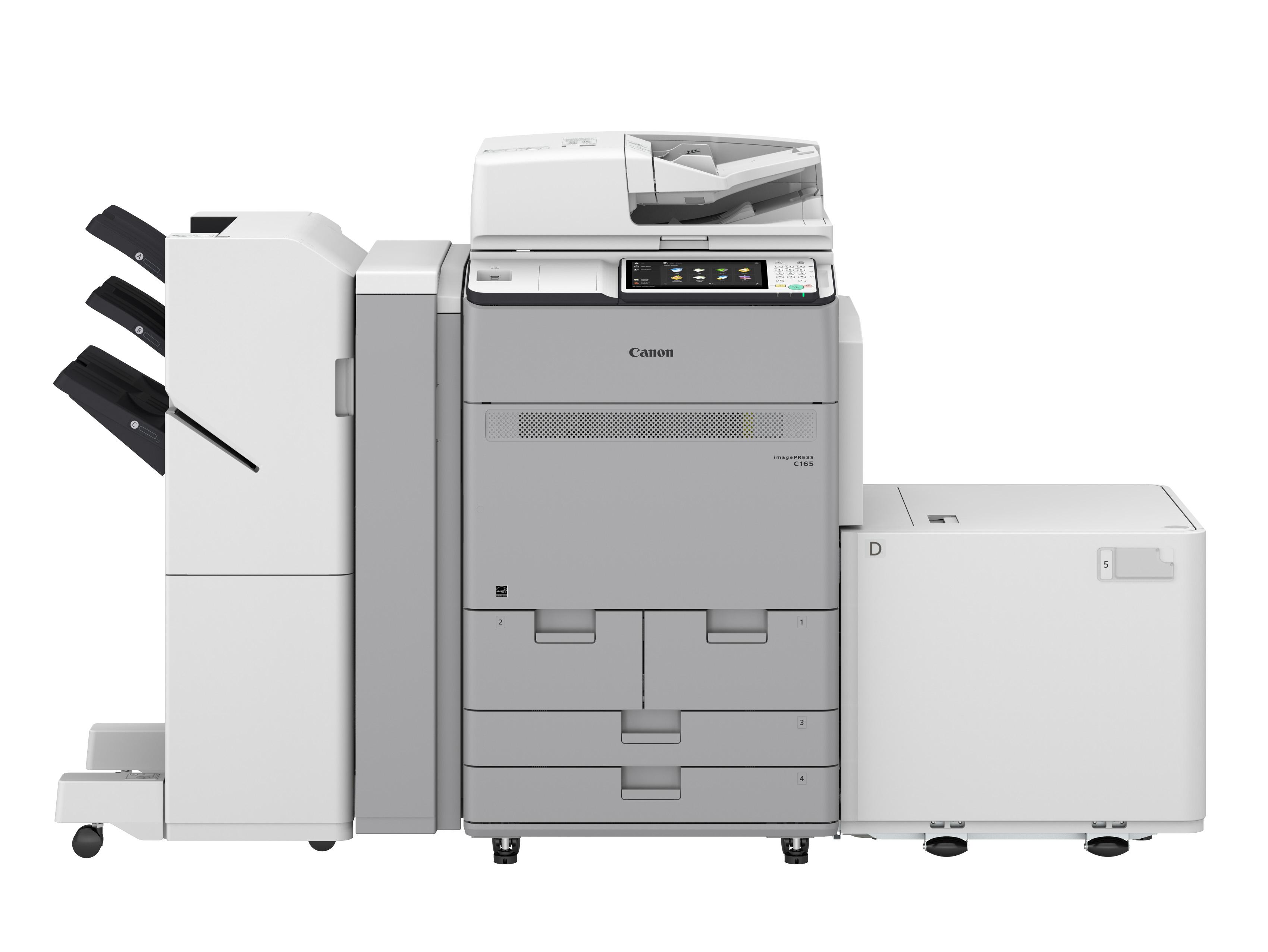 简单且更专业  佳能新发紧凑型彩色数码印刷系统imagePRESS C165