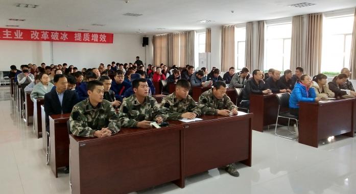 新农乳业公司开展消防培训