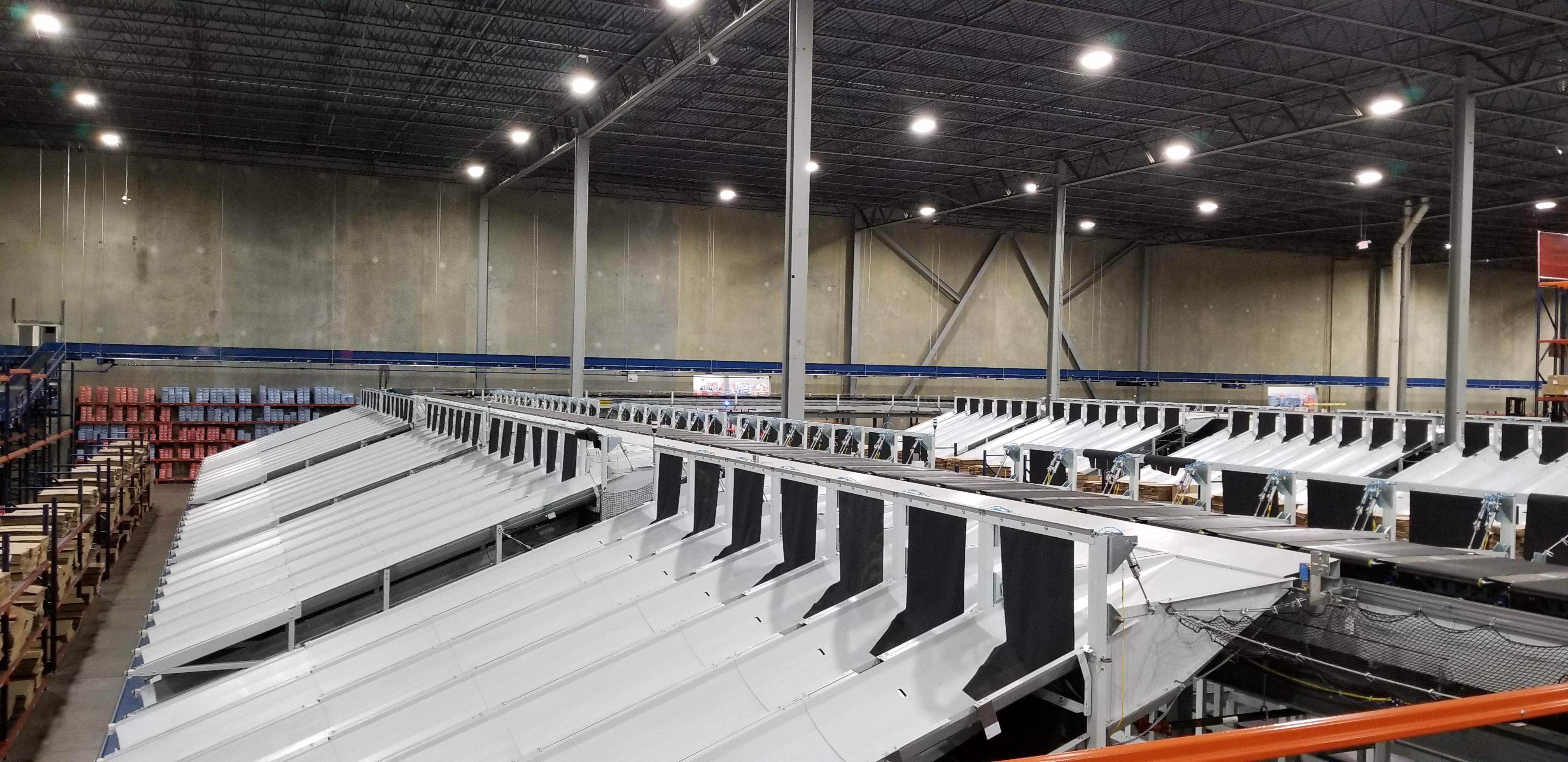 英特诺携手美国Conveyor Handling Company  提供高效的鞋履分拣解决方案