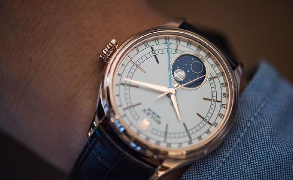 Rolex Cellini Lunar Phase Watch