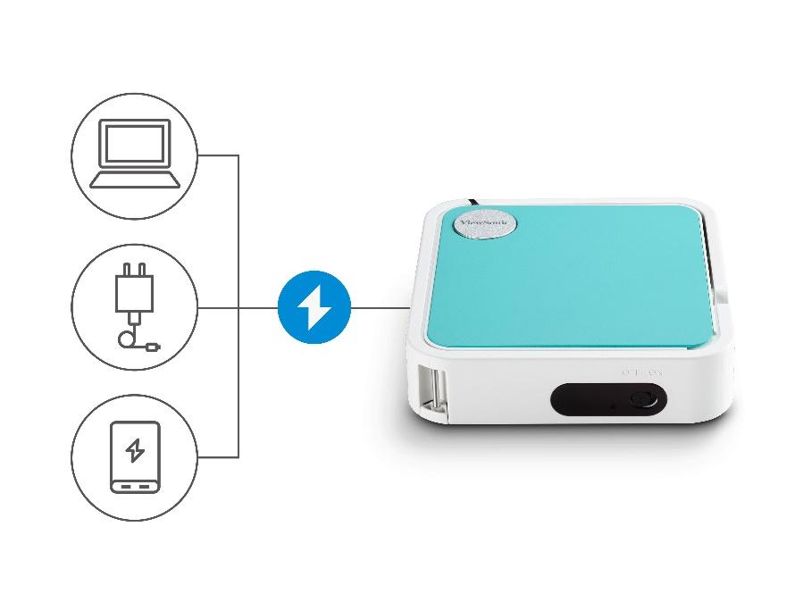 优派发布便携投影M1 mini  打造移动视听盛宴