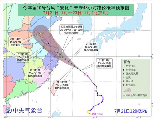 上海发布台风预警,已做好相关准备