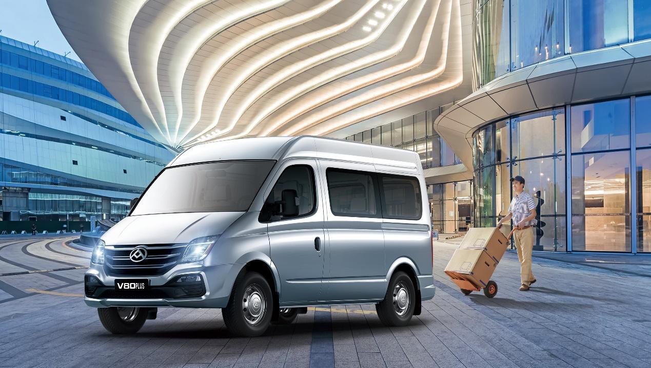 2021款上汽大通MAXUS V80 PLUS焕新上市,新增九座商旅版