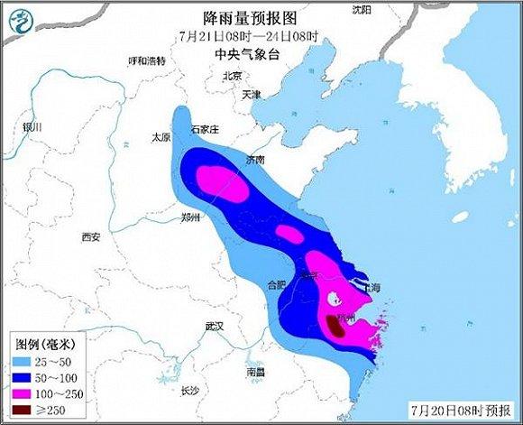 台风安比来袭将会在江苏一带登陆