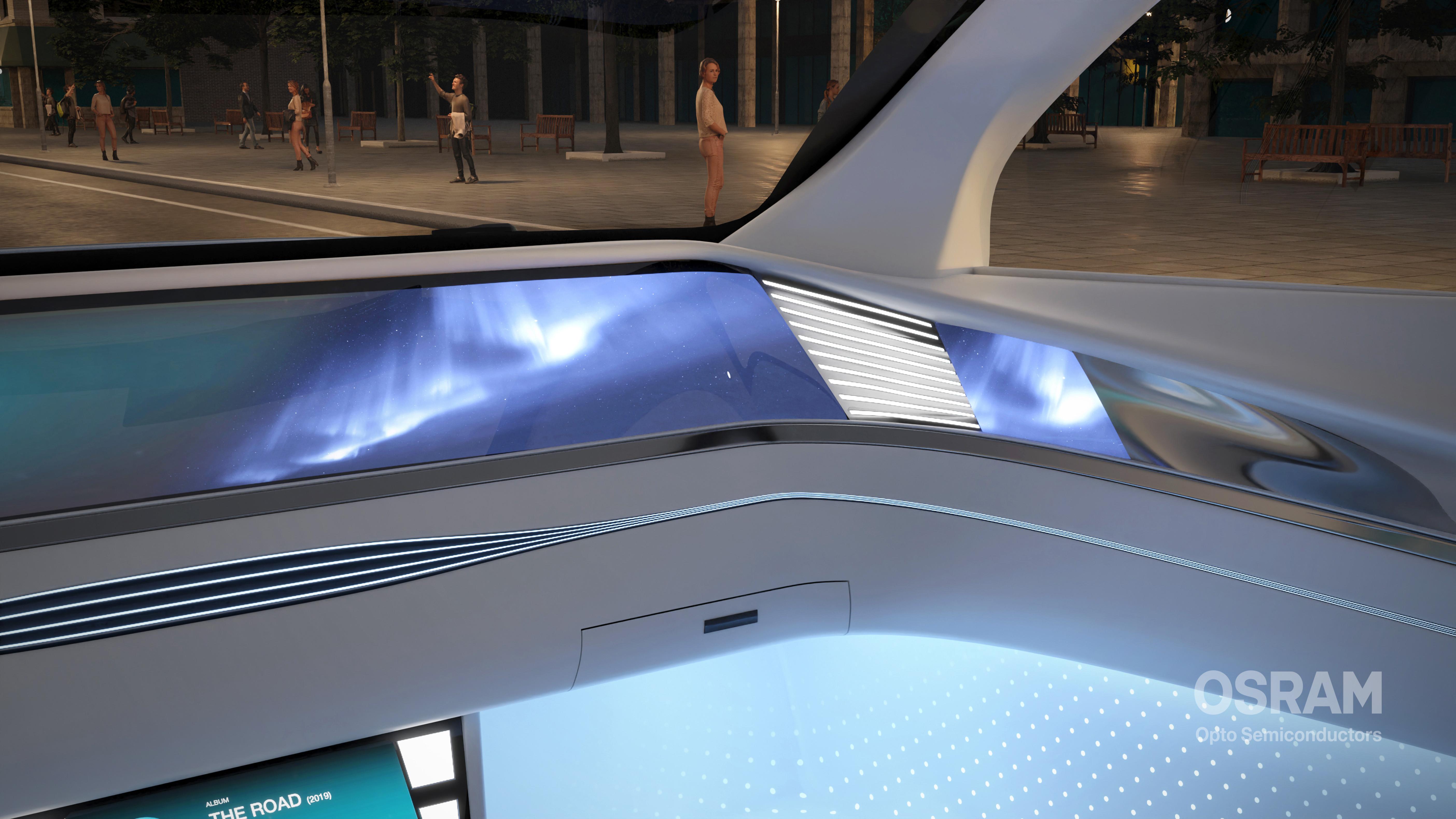 把驾驶室变成移动生活空间  欧司朗推出汽车环境照明Ostune LED系列