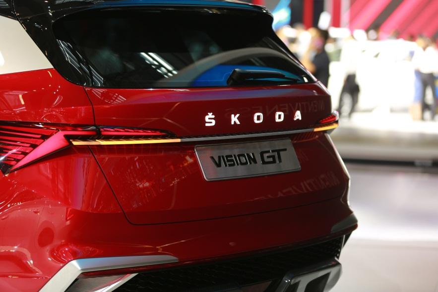 这就是VISION GT!  斯柯达SUV造型年轻化步伐再进一步