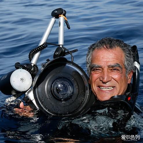 以色列海底摄影师