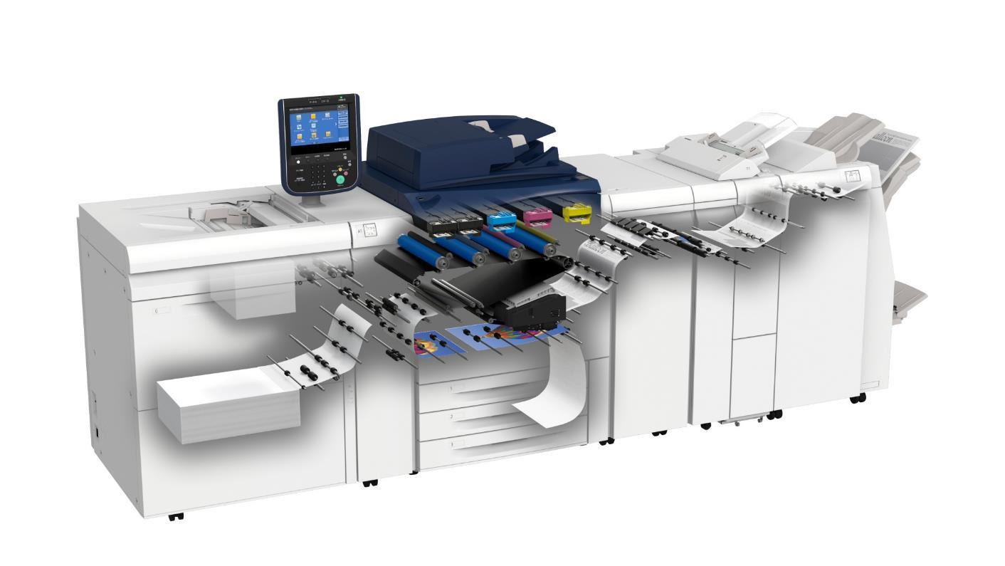 """富士施乐Versant 180 Press双色按需印刷系统 助力""""红头文件""""专业印制"""