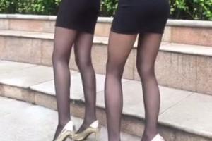 快手美女 高跟黑丝美腿秀