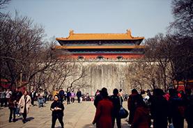明太祖朱元璋与其皇后的合葬陵墓·明孝陵